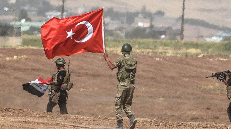 Уграницы Турции произошел взрыв