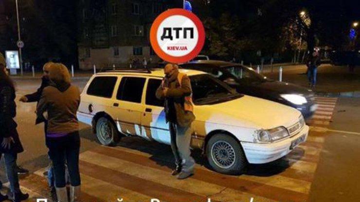 Под Киевом нетрезвый шофёр сбил напереходе ребенка