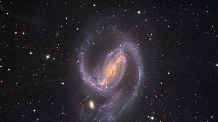 Астрономы получили большие изображения галактики «лица Бога»