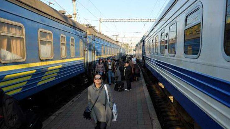 Встолице шутник сказал о«заминировании» поезда «Киев-Львов»