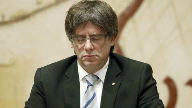 Бывшему главе Каталонии предъявили обвинение— Подстрекательство кмятежу