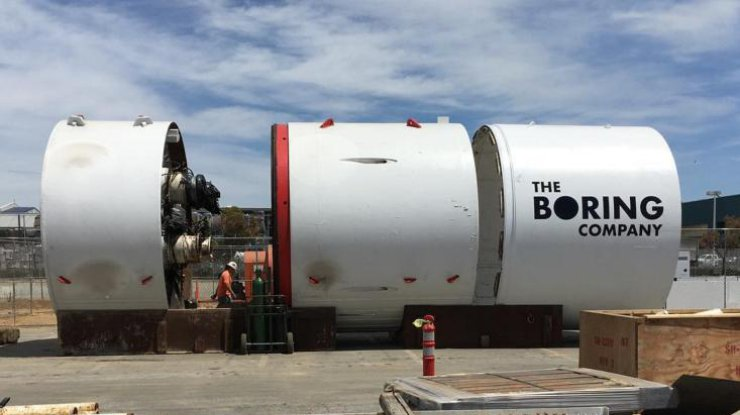 Илон Маск продемонстрировал свежее фото революционного тоннеля под Лос-Анджелесом