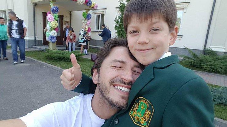 Сын Притулы попал в клинику после экстремального празднования дня рождения