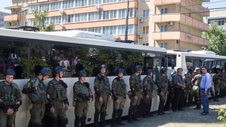 ВКиеве вовремя футбольного матча порядок будут обеспечивать несколько тыс. полицейских