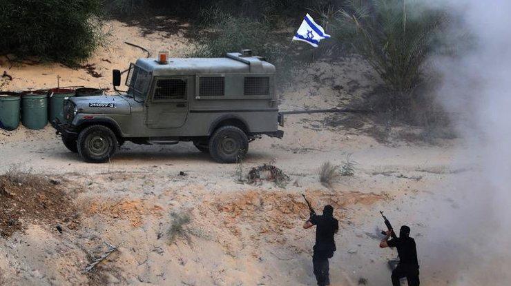 Израиль уничтожил наблюдательный пункт боевиков вГазе