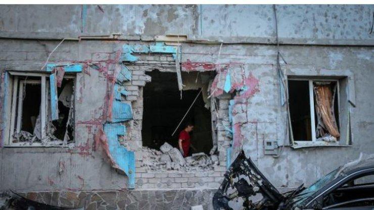 Усалона красоты вдонецкой Константиновке взорвалась граната