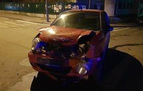 Авария в центре столицы / Фото: dtp.kiev.ua