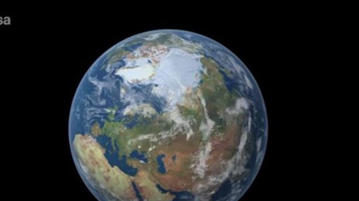 Винтернете появилось видео огромной озоновой дыры над Антарктидой