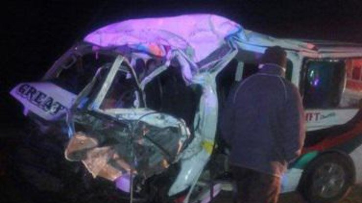 После столкновения скоровой погибли 12 человек— Смертельное ДТП