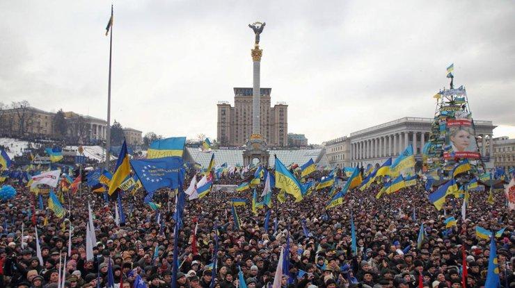 Годовщина Майдана: улицы столицы Украины усилили дополнительными нарядами милиции