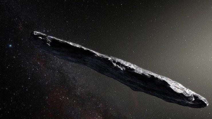 ВСолнечной системе увидели 1-ый межзвездный объект— астероид Оумуамуа