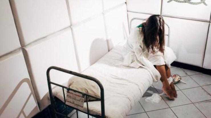 Порно в псих больницы