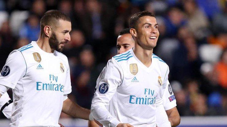 «Реал» разгромил АПОЭЛ ивышел вплей-офф Лиги чемпионов