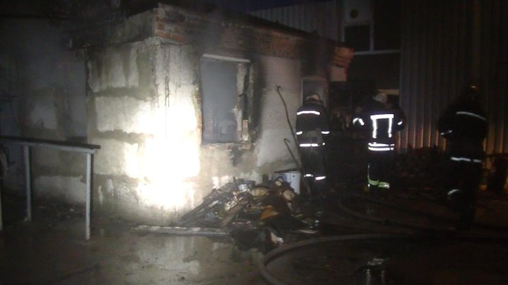 ВХарьковской области в итоге пожара вжилом доме погибла женщина