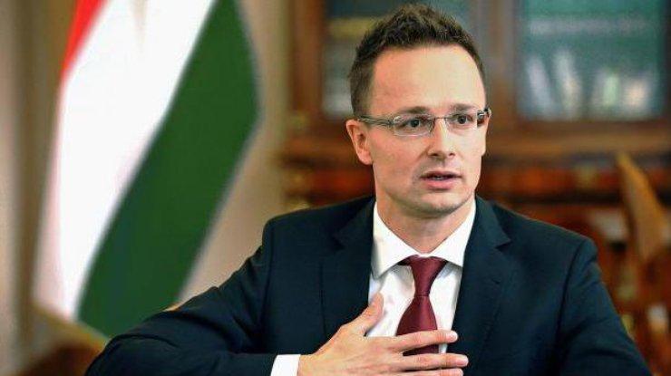 Венгрия неможет поддержать евроатлантические усилия Украины— Сийярто