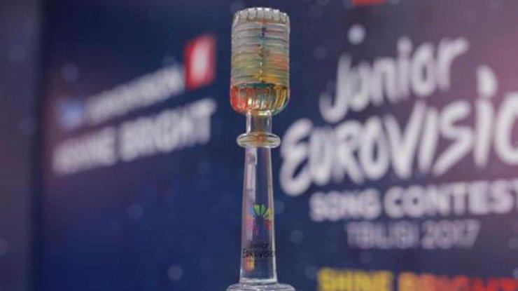 Голосование созерцателей «Детского Евровидения 2017» начнётся вконце рабочей недели