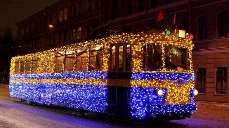 Как будет работать городской транспорт вКиеве— Новогодняя ночь