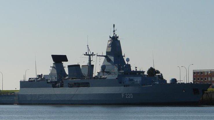 Впорт Одессы зашел фрегат ВМС Франции