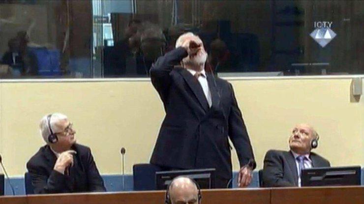 Нидерланды расследуют инцидент вГааге спринявшим ядгенералом боснийских хорватов