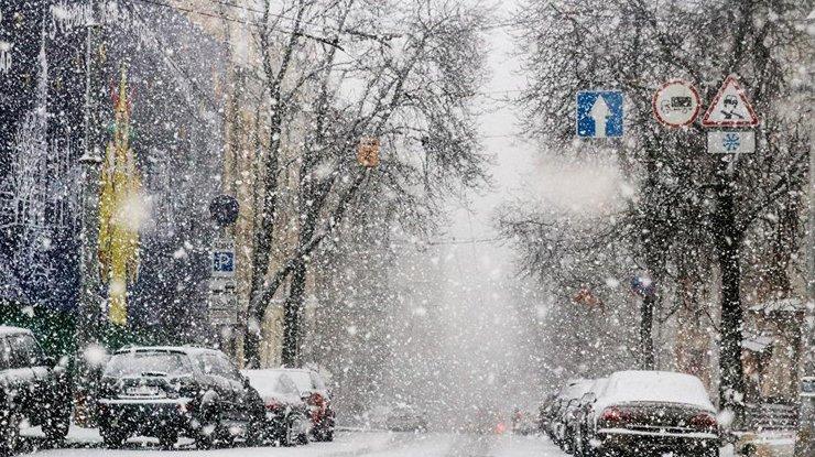 Встолицу Украины сутра ограничен заезд фур и фургонов