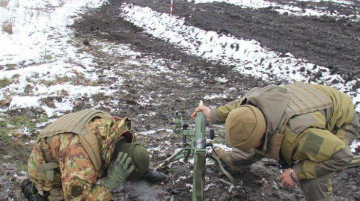 Минувшие сутки отметились открытием минометного огня боевиками попозициям ВСУ— Штаб АТО