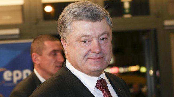 Президент Украины Петр Порошенко записал новогоднее обращение кроссиянам