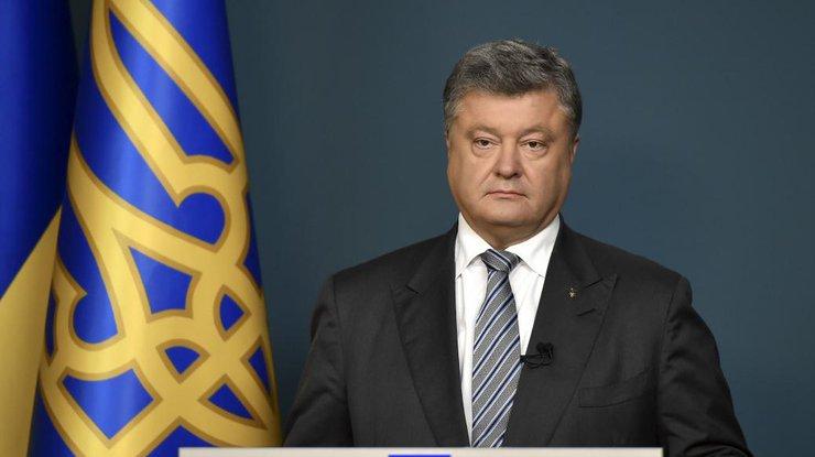 Президент Порошенко назвал основные достижения государства Украины загод