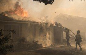 Пламя уничтожило 150 зданий