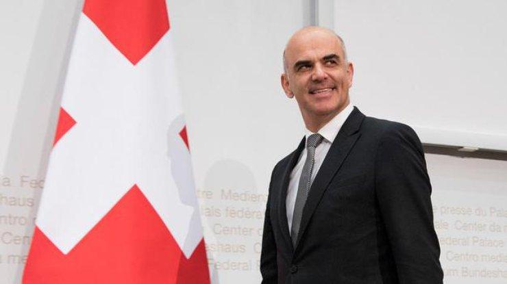 Парламент Швейцарии выбрал президента наследующий год