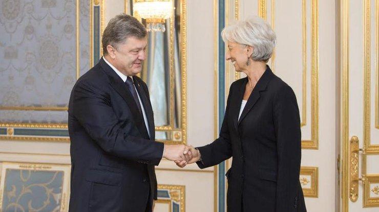 Порошенко обсудил сглавой МВФ создание Антикоррупционного суда вгосударстве Украина