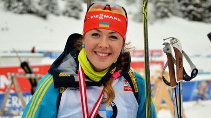 Украинская биатлонистка заняла восьмое место вгонке преследования начемпионате мира