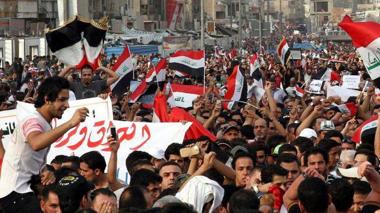 Погибший надемонстрации вБагдаде был силовиком