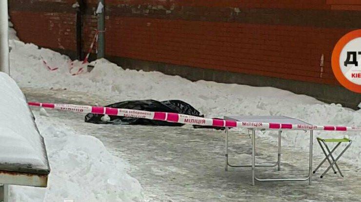 Женщина вКиеве выбросила своего ребенка изокна восьмого этажа