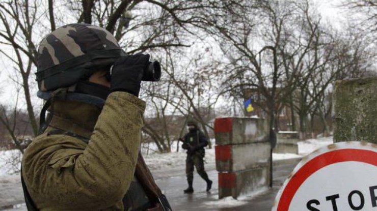 Боевики изгранатометов обстреляли КПВВ «Марьинка»
