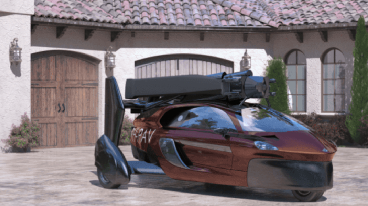 PAL-V начала принимать предзаказы налетающий автомобиль