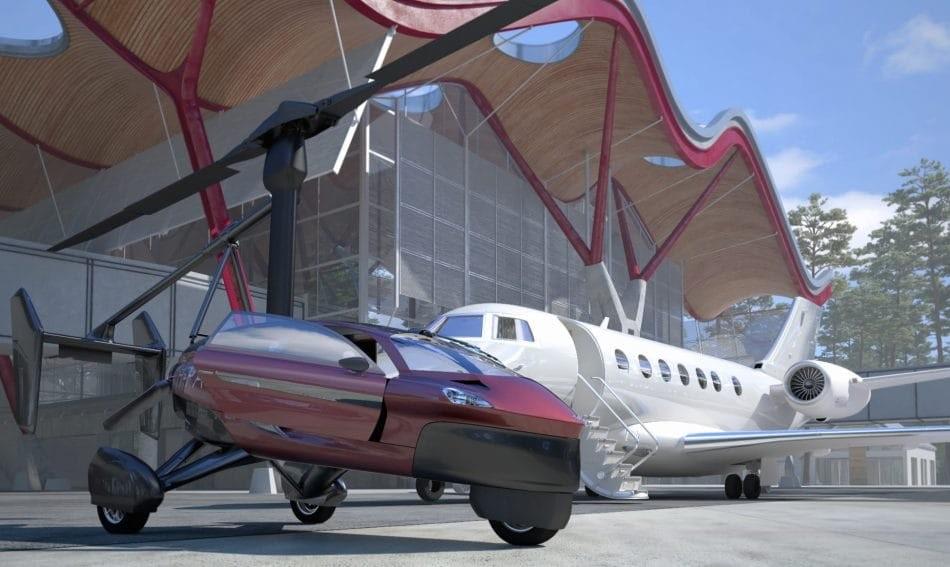 1-ый вмире летающий автомобиль уже можно приобрести