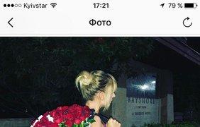 Еще одна ведущая развлекательной программы Леся Никитюк похвасталась роскошным букетом роз