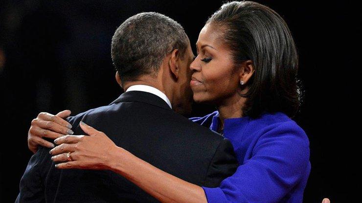Мишель Обама показала, как они сБараком проводят День влюбленных