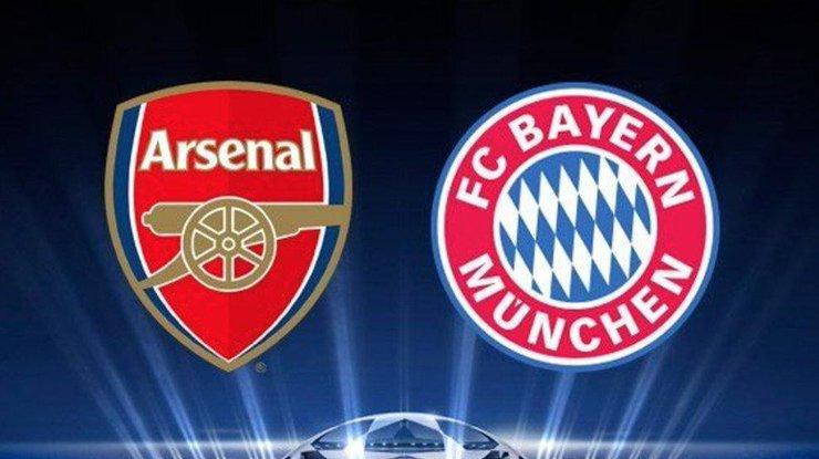 Лига чемпионов. Когда игде смотреть матч Бавария— Арсенал