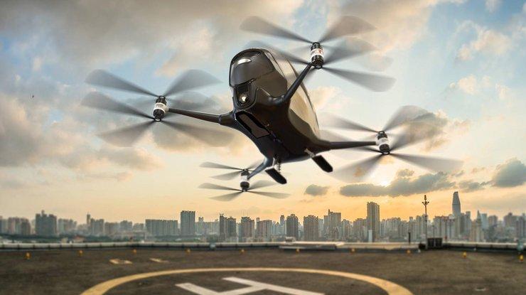 ВДубае летом хотят запустить пассажирский беспилотник