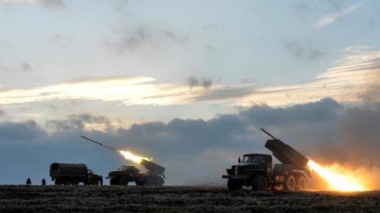 Утром врайоне Авдеевки произошел бой, атака боевиков была отражена,— штаб АТО