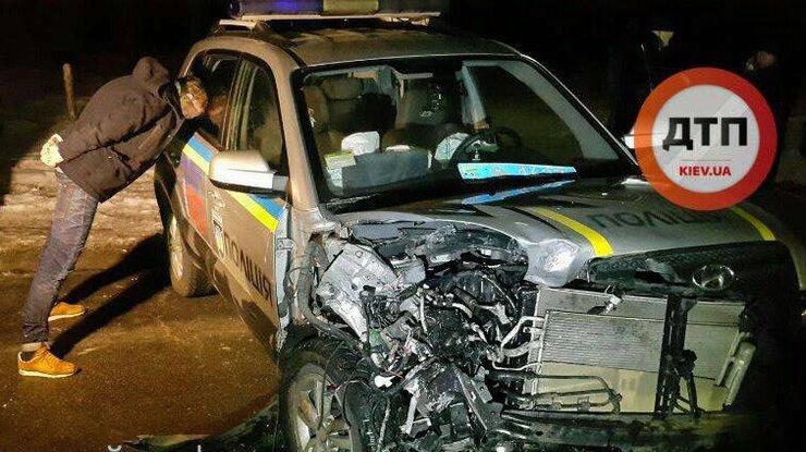 ВКиеве произошел угон авто спохищением человека, погоней и трагедией