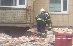 В результате обстрелов пострадал жилой дом