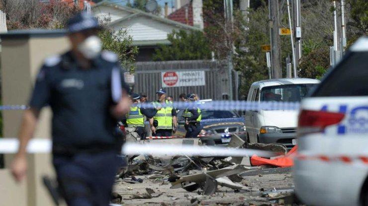 ВАвстралии самолет упал наторговый центр, есть жертвы
