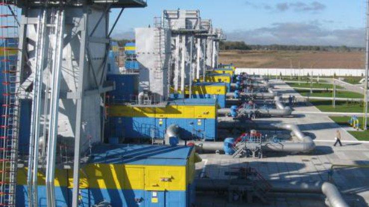 Украина в 4 раза сократила суточный отбор газа изхранилищ