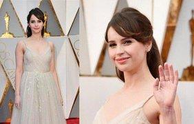 """Фелисити Джонс. Актриса является номинанткой на премии """"Оскар"""", """"BAFTA"""" и обладательницей премии """"Золотой глобус"""" за роль Джейн Хокинг в фильме """"Теория всего""""."""