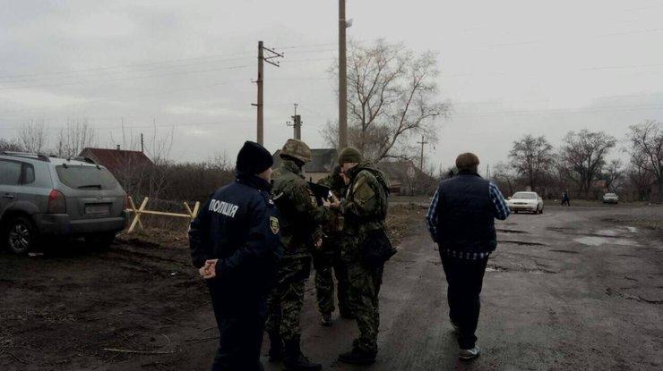 В.Аброськин: впроцессе нападения научастников блокады наДонбассе травмировался человек