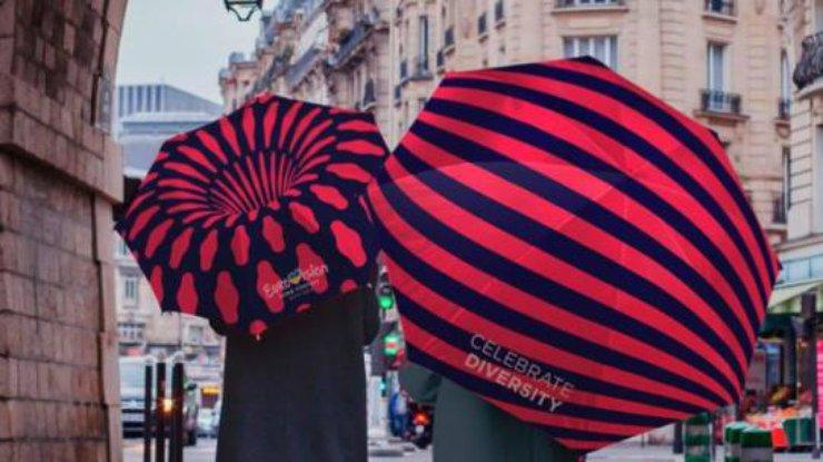 Знак для «Евровидения-2017» сравнили скосой Тимошенко