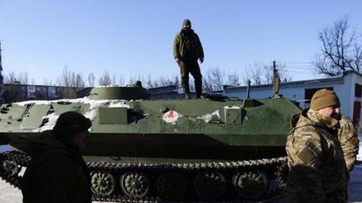 Задень позиции ВСУ взоне АТО обстреляли 30 раз— штаб