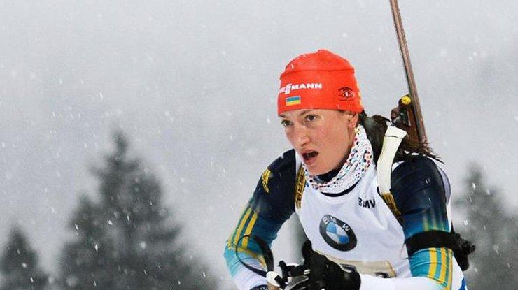 Югорская биатлонистка Дарья Виролайнен взяла серебро наКубке IBU
